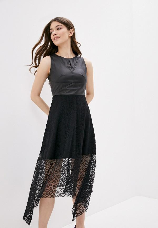 женское платье vagi, черное