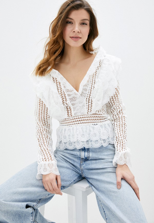 женская блузка vagi, белая