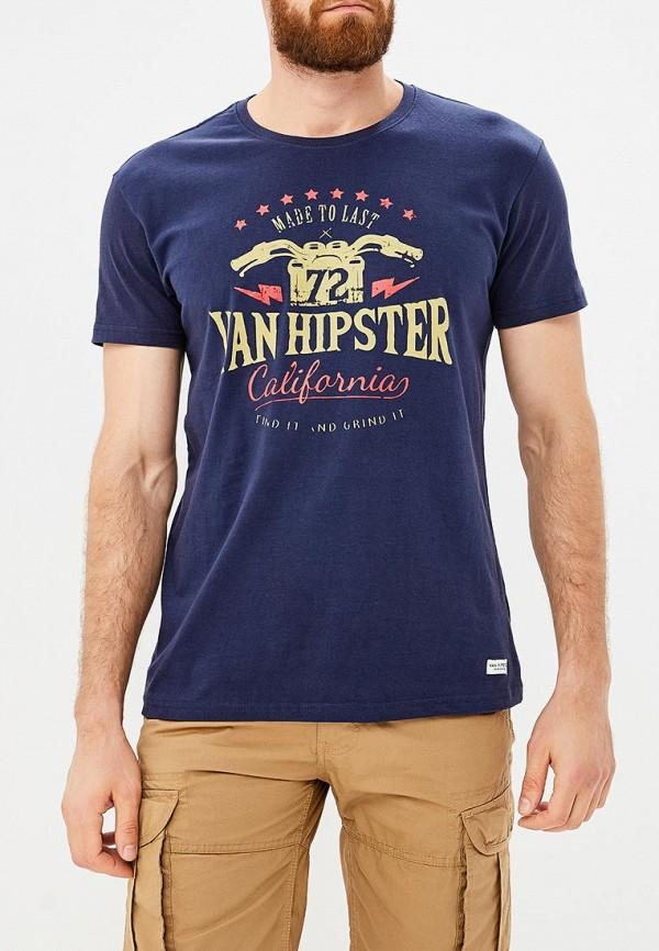 Футболка Van Hipster Van Hipster VA021EMCAUX2 шорты van hipster van hipster va021emcaus9