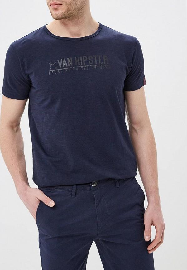 Футболка Van Hipster Van Hipster VA021EMERAD8 поло van hipster van hipster va021emcauu5