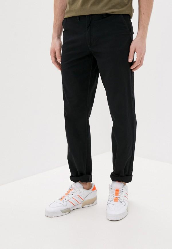 мужские прямые брюки van hipster, черные
