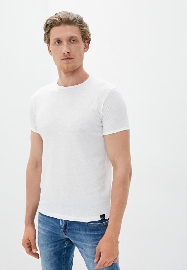 мужская футболка с коротким рукавом van hipster, белая