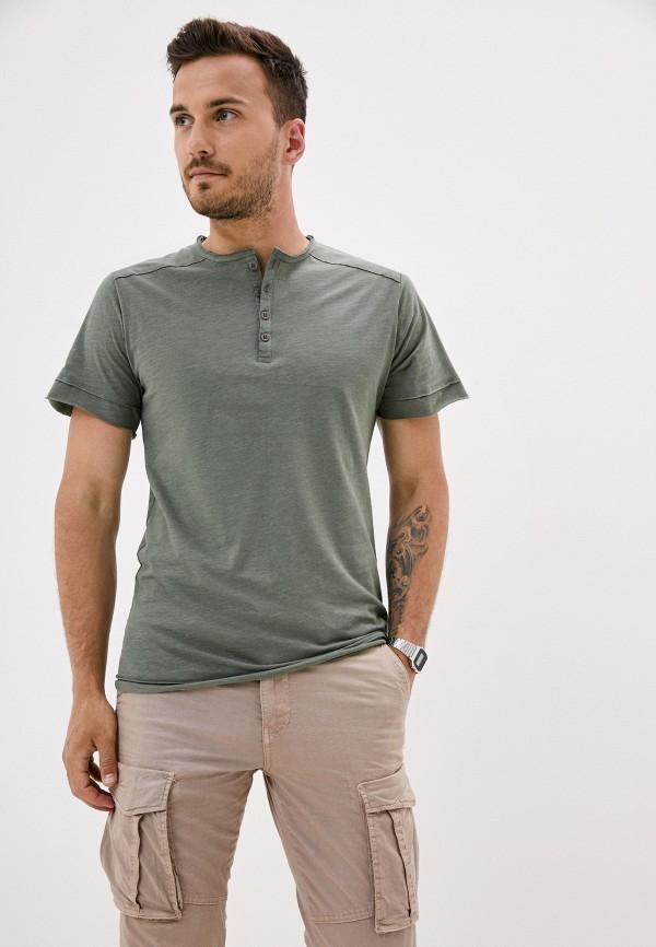 мужская футболка с коротким рукавом van hipster, зеленая