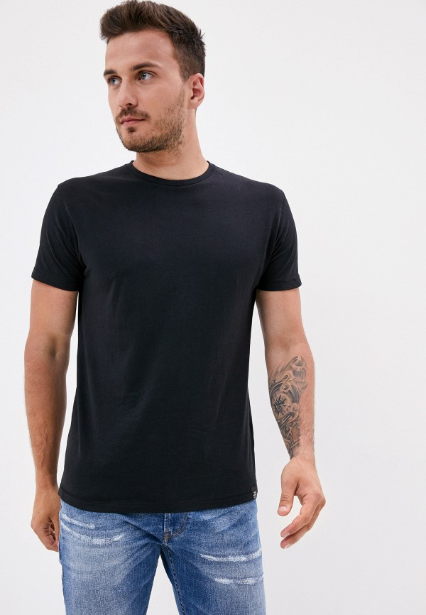 мужская футболка с коротким рукавом van hipster, черная