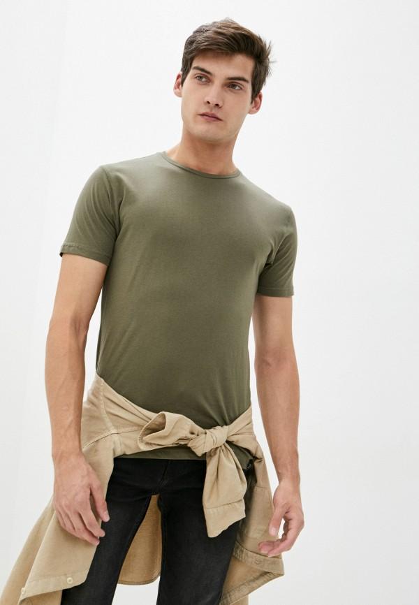 мужская футболка с коротким рукавом van hipster, хаки