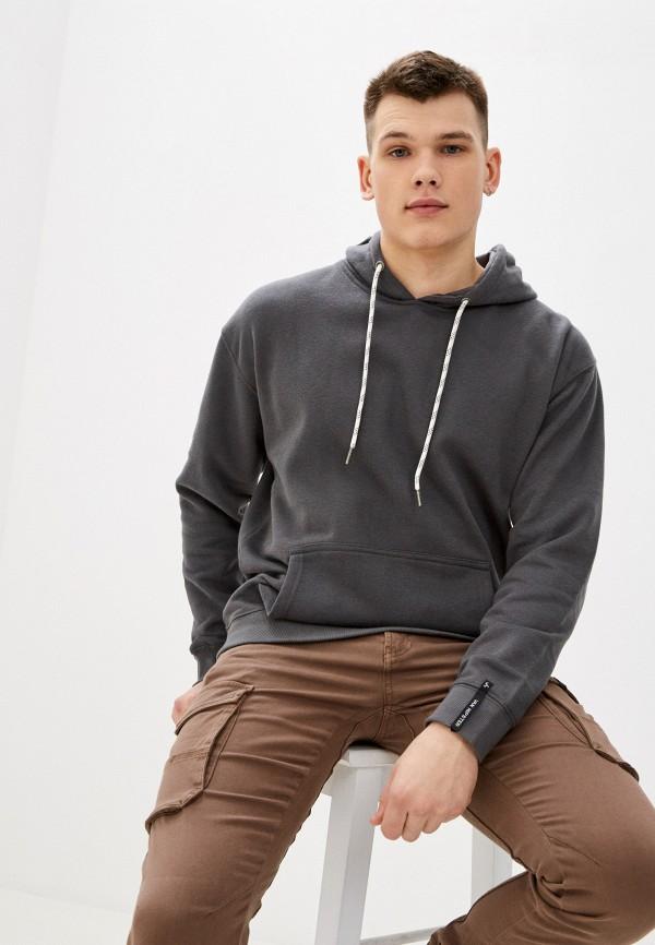 мужские худи van hipster, серые