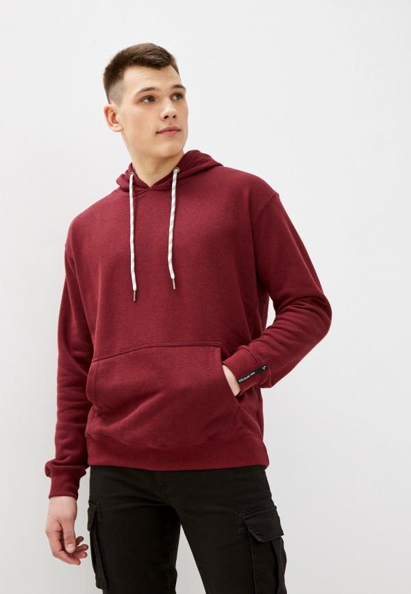мужские худи van hipster, бордовые