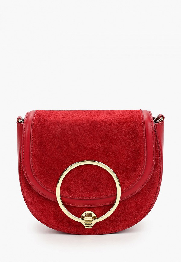 женская сумка valeria vinci, красная