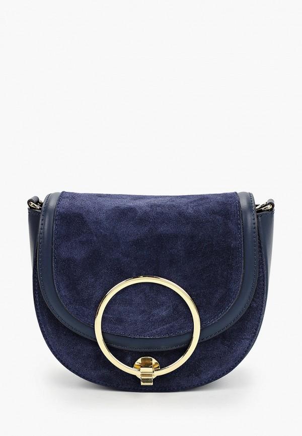 женская сумка valeria vinci, синяя