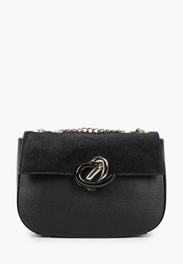 женская сумка valeria vinci, черная