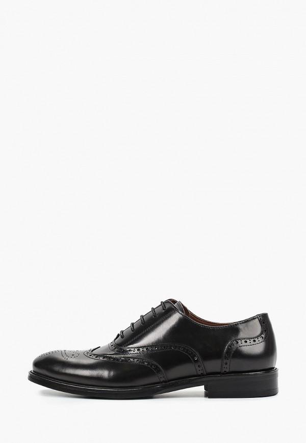 мужские туфли-оксфорды valor wolf, черные