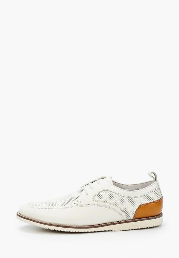 мужские туфли-дерби valor wolf, белые