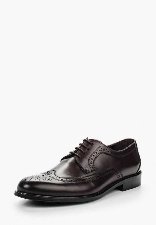 мужские туфли-дерби valor wolf, коричневые