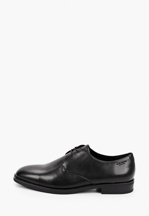 мужские туфли-дерби vagabond, черные