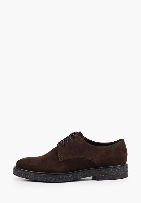 мужские низкие ботинки vagabond, коричневые