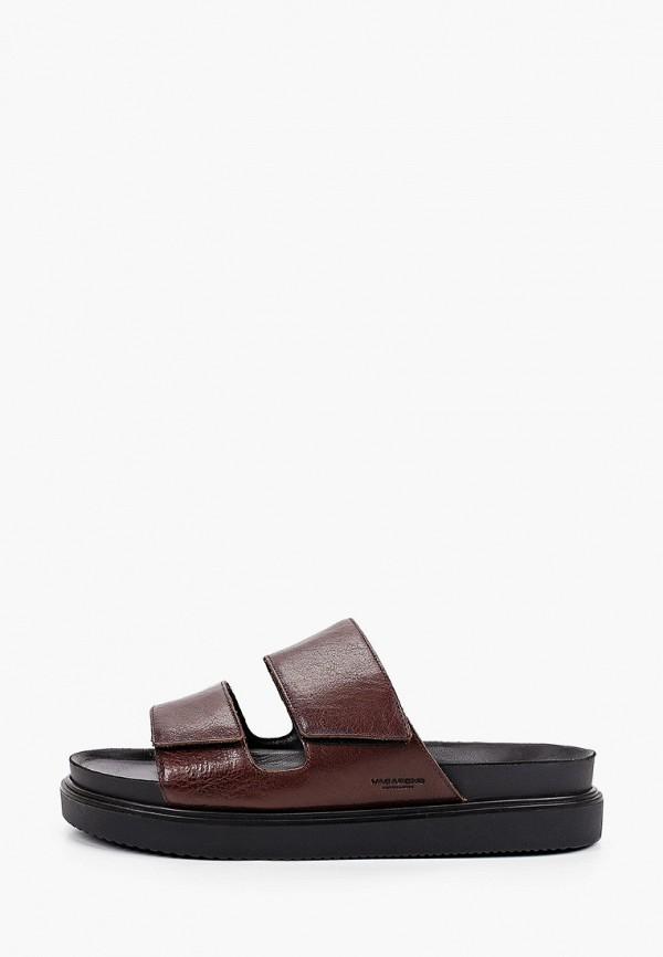 мужские сандалии vagabond, коричневые