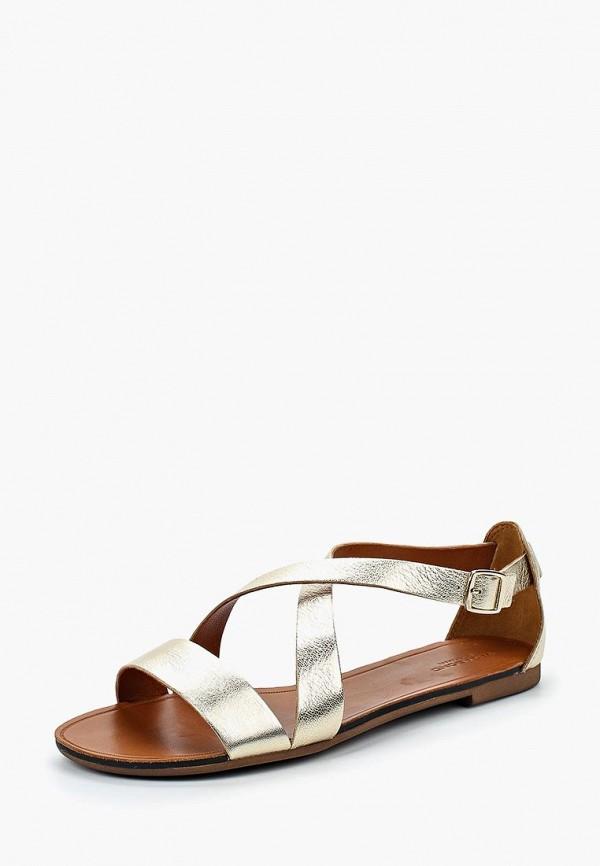 женские сандалии vagabond, золотые
