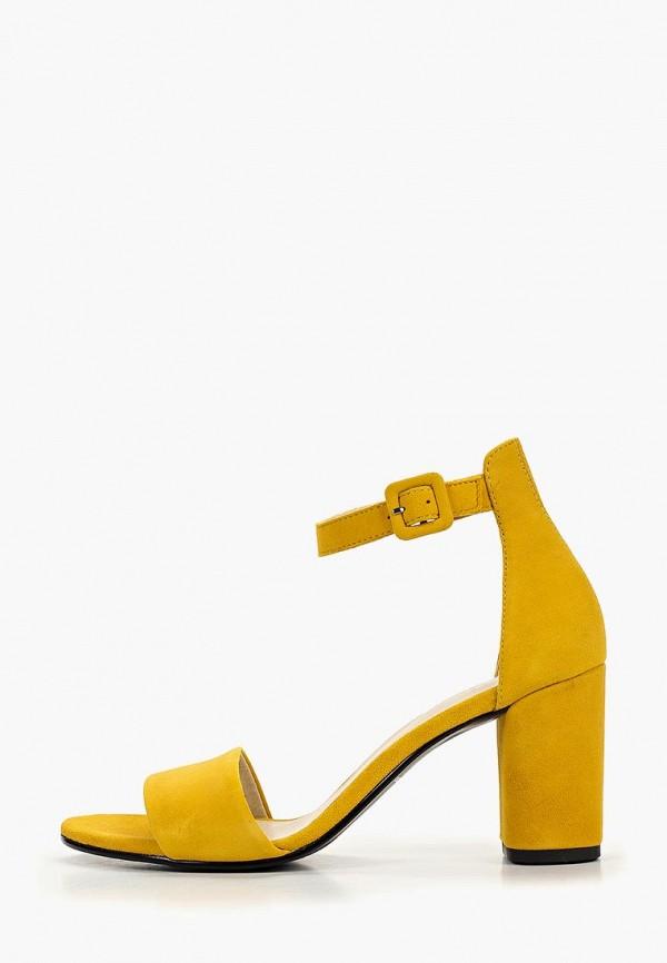 женские босоножки vagabond, желтые