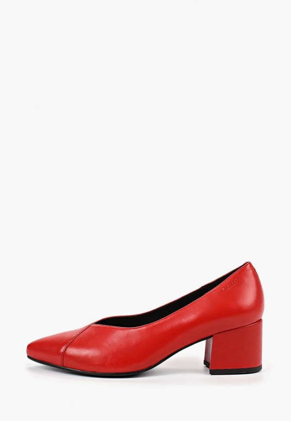 женские туфли vagabond, красные