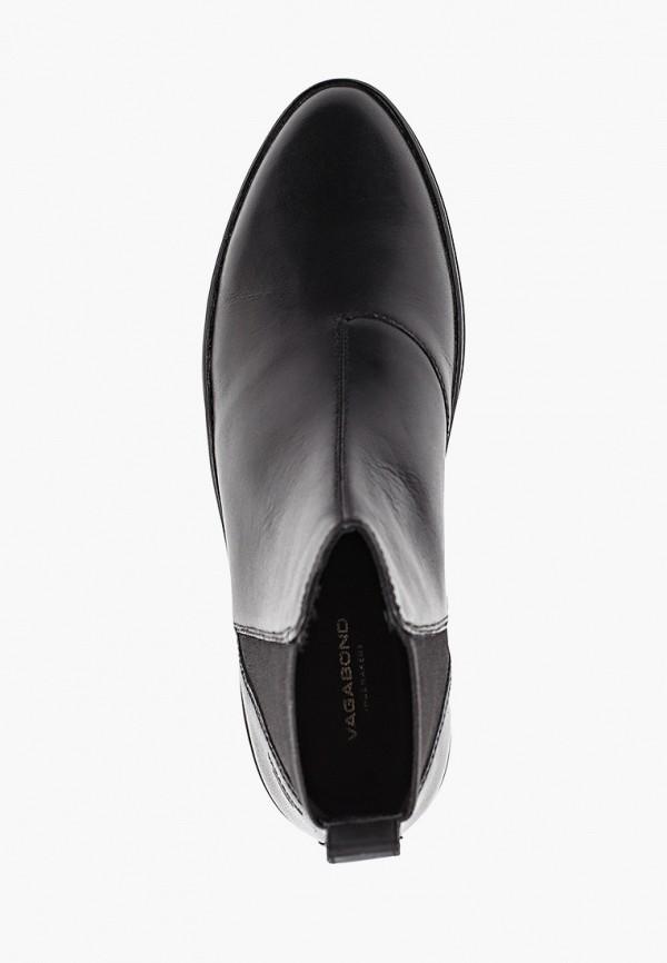 Фото 4 - женские ботинки и полуботинки Vagabond черного цвета