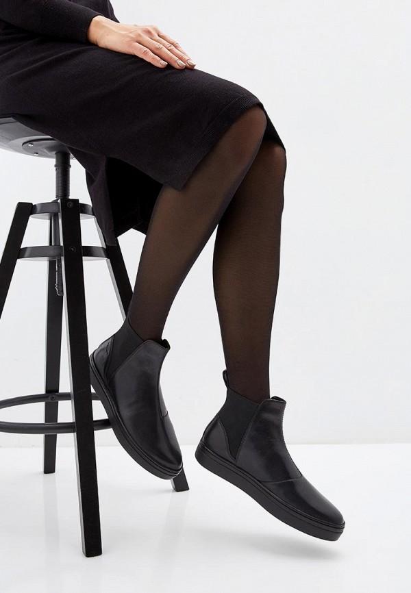 Фото 6 - женские ботинки и полуботинки Vagabond черного цвета