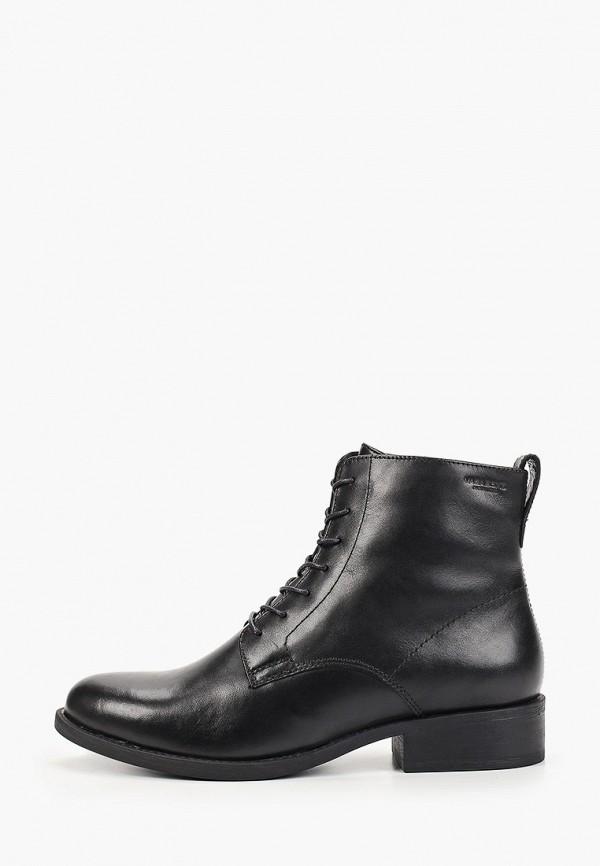 женские высокие ботинки vagabond, черные