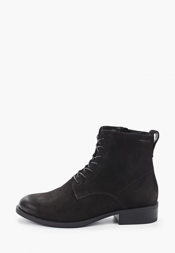 Фото - женские ботинки и полуботинки Vagabond черного цвета