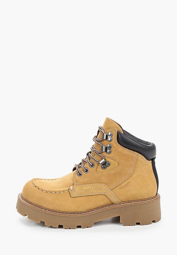 женские ботинки vagabond, бежевые