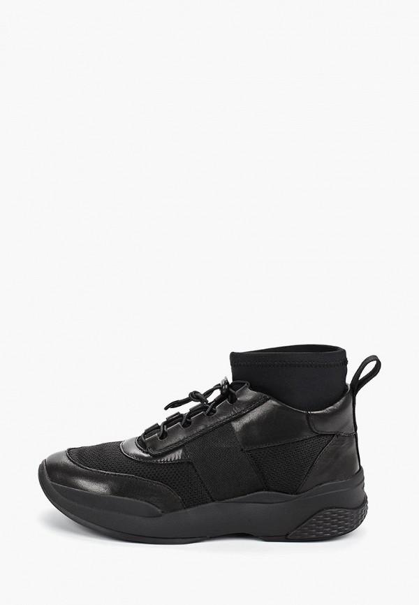 Фото - женские кроссовки Vagabond черного цвета