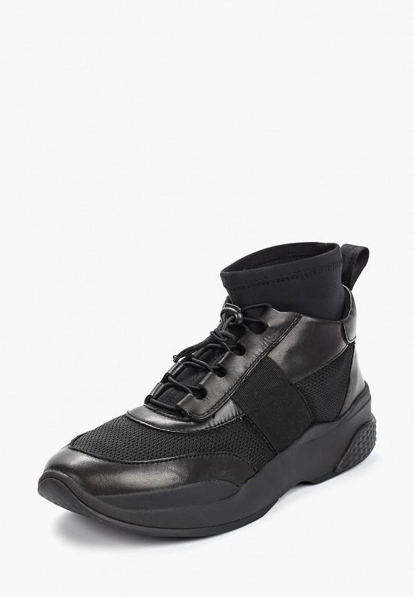 Фото 2 - женские кроссовки Vagabond черного цвета