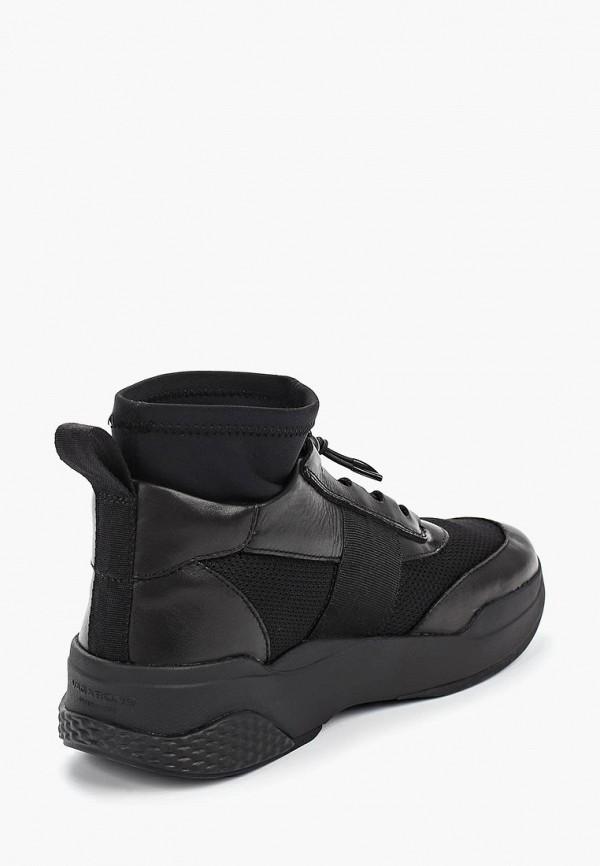 Фото 3 - женские кроссовки Vagabond черного цвета