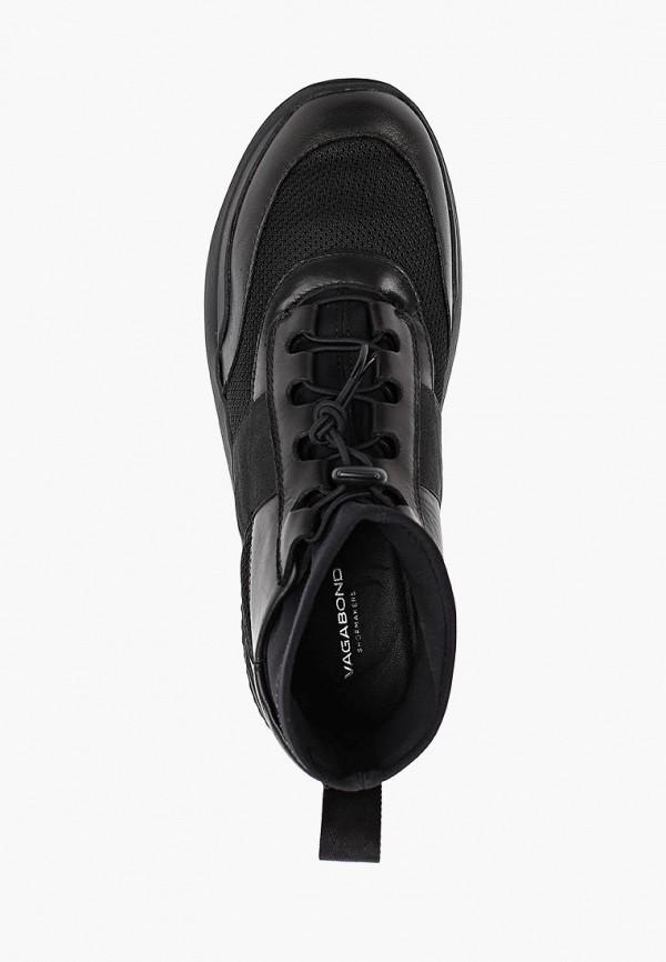 Фото 4 - женские кроссовки Vagabond черного цвета