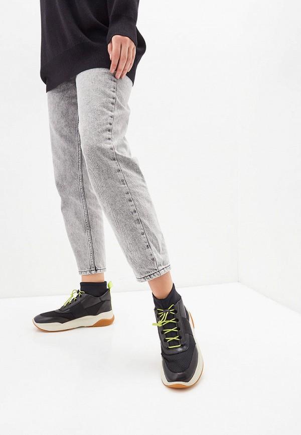 Фото 6 - женские кроссовки Vagabond черного цвета