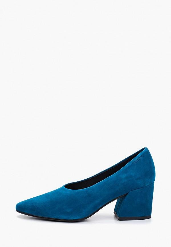 женские туфли vagabond, синие