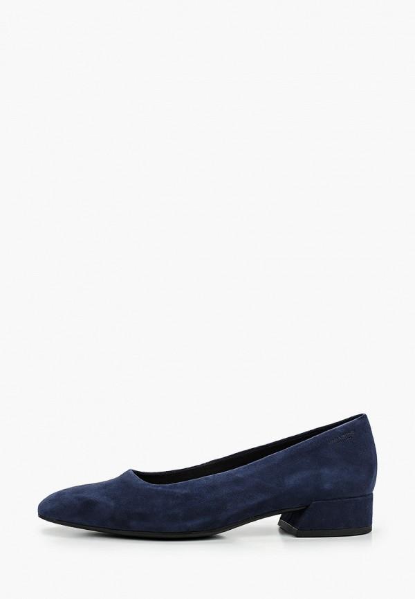 женские туфли с закрытым носом vagabond, синие