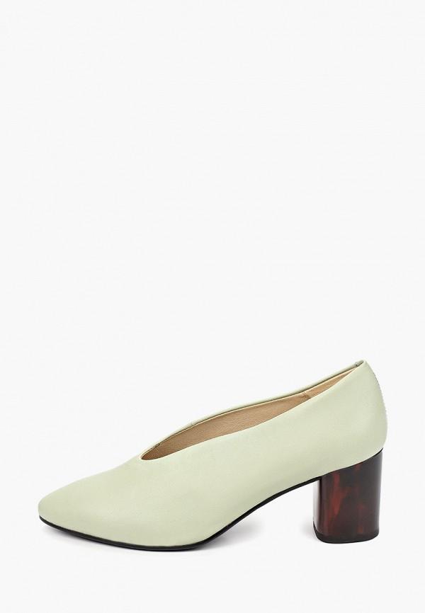 женские туфли с закрытым носом vagabond, зеленые