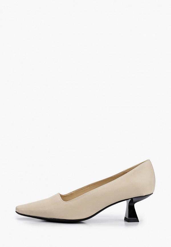 женские туфли vagabond, бежевые