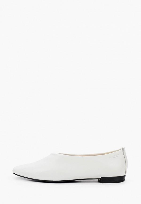 женские туфли с закрытым носом vagabond, белые
