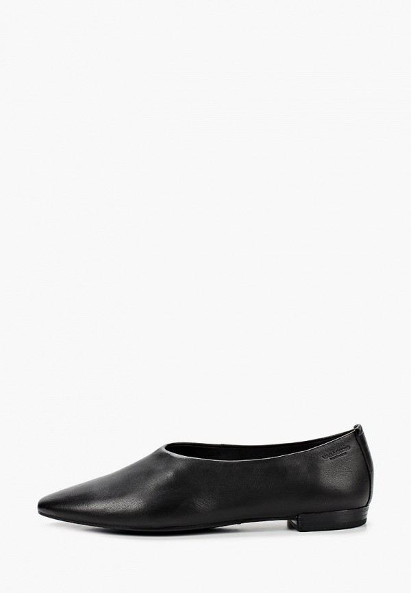 женские туфли с закрытым носом vagabond, черные