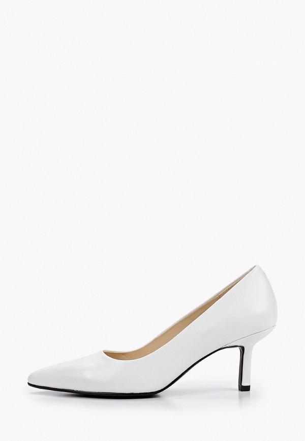 женские туфли-лодочки vagabond, белые