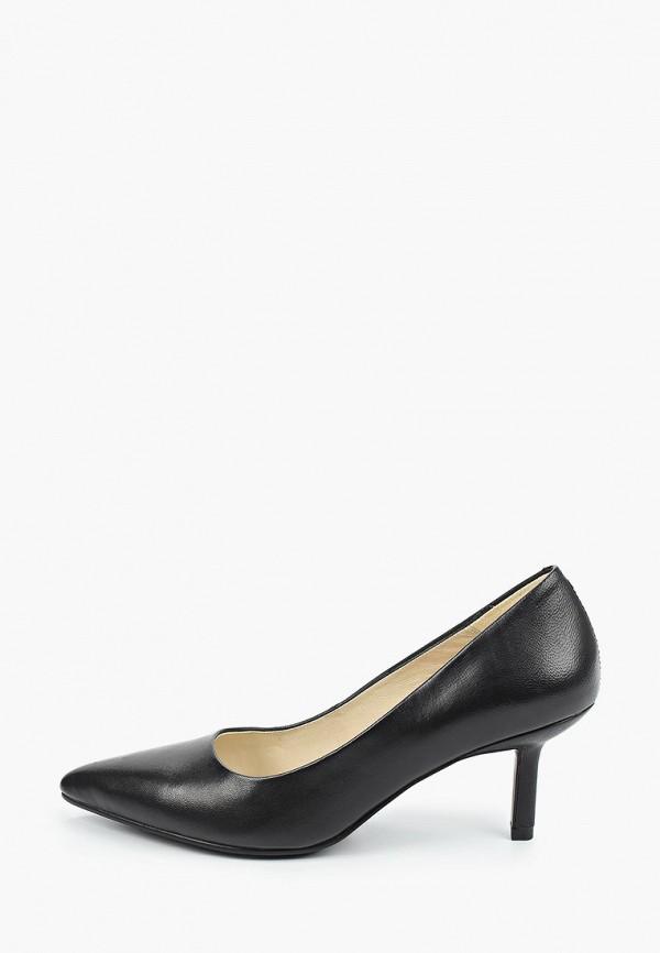 женские туфли-лодочки vagabond, черные