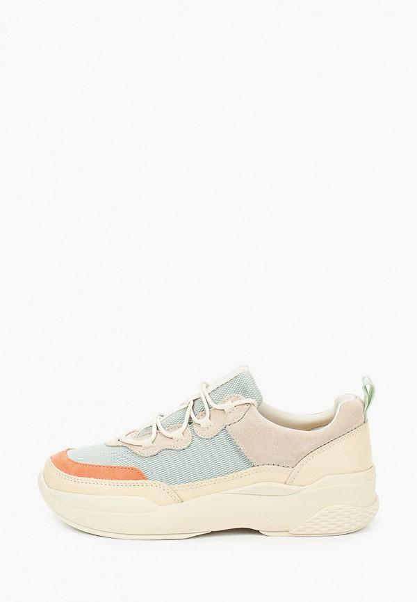 женские низкие кроссовки vagabond, разноцветные