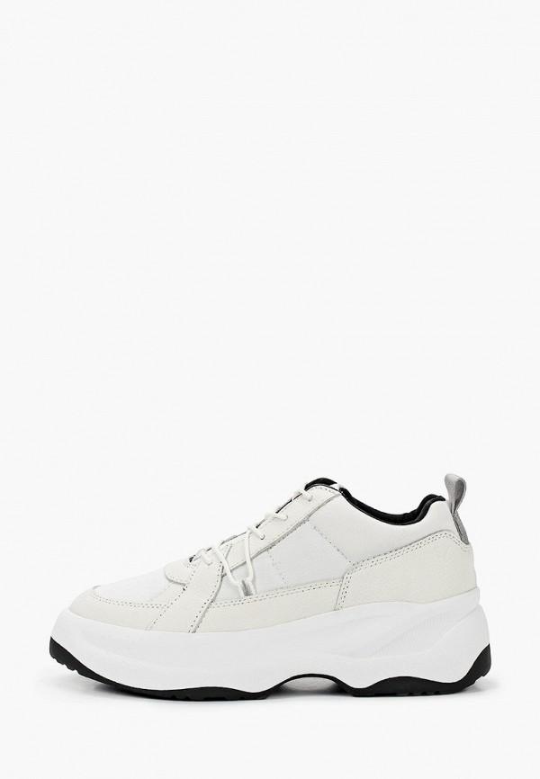 женские низкие кроссовки vagabond, белые