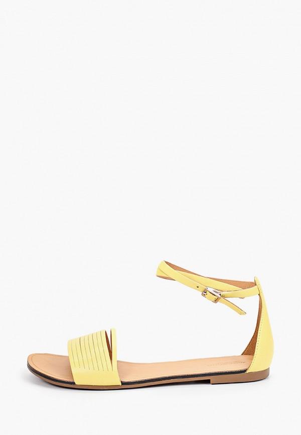 женские сандалии vagabond, желтые