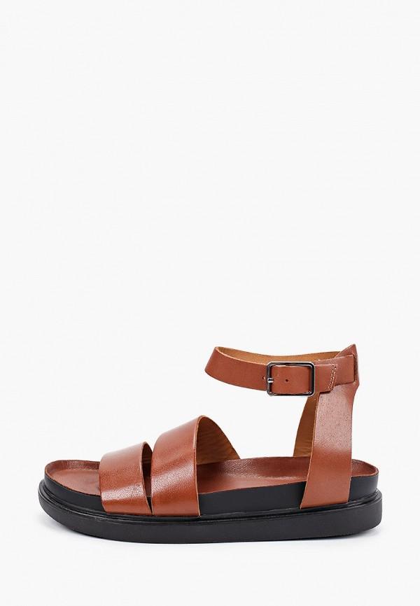 женские сандалии vagabond, коричневые