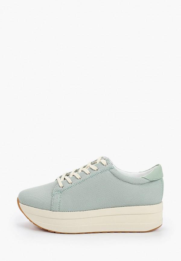 женские низкие кроссовки vagabond, зеленые