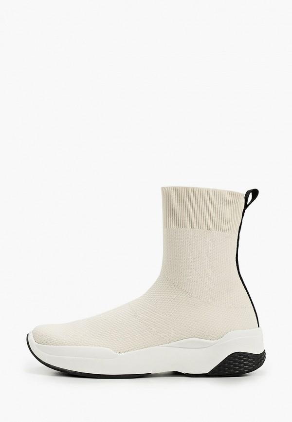 женские высокие кроссовки vagabond, белые