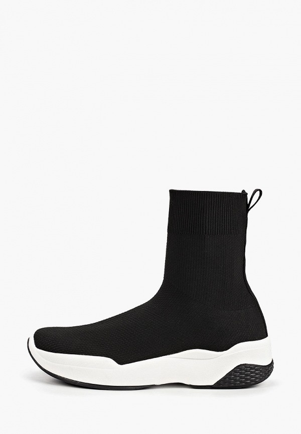 женские высокие кроссовки vagabond, черные