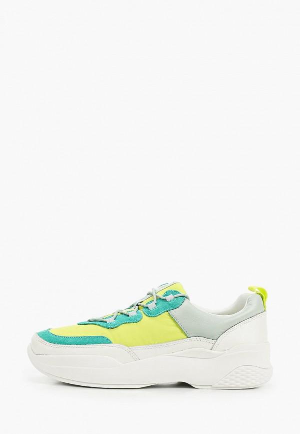 женские кроссовки vagabond, зеленые