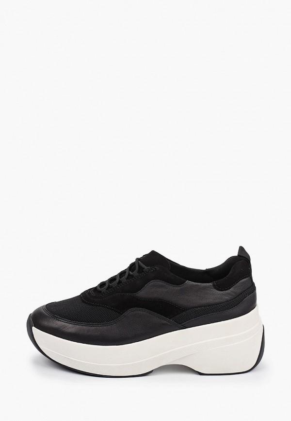 женские низкие кроссовки vagabond, черные